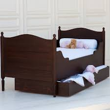 Simple Bed Frame by Simple Trundle Bed By The Beautiful Bed Company