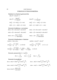 dispense analisi 1 formule analisi 1 dispense