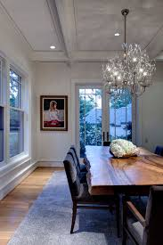Dining Room Ceiling Lights Mango Wood Dining Table Dining Room Contemporary With Baseboards
