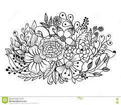 flower leaf coloring pages flower leaves coloring pages download