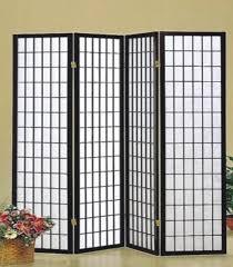 3420k4 4 panel room divider black u2013 roomstyle furniture u0026 mattress