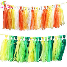 Curtains With Pom Poms Decor 5pcs Set Wedding Tissue Paper Tassels Garland Ribbon Curtain