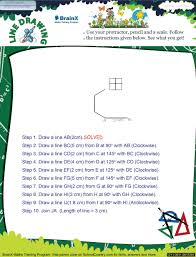 line drawing math worksheet for grade 5 free u0026 printable worksheets