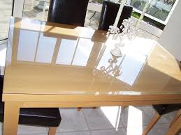 clear glass table top crinken glass