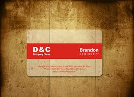 template business card cdr transparent clear business card design templates red minimalist