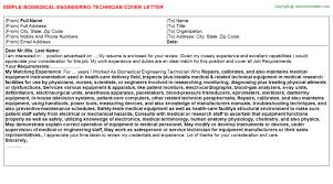 biomedical engineering technician job title docs