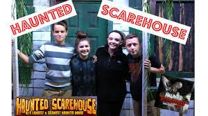 haunted scarehouse youtube