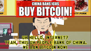 Meme China - why i m buying this dip in bitcoin as ico s are banned in china