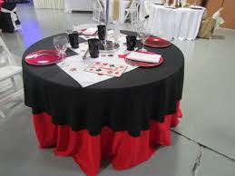 themed table cloth table linens for rent party rentals in dayton oh a s play zone