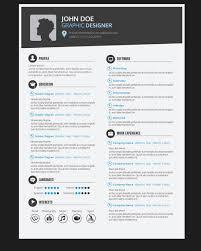 graphic designer resume graphic designer resume cv vector