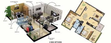 3 Bhk Apartment Floor Plan by Floor Plan Shree Swami Narayan Enclave At Wathoda Umred Road