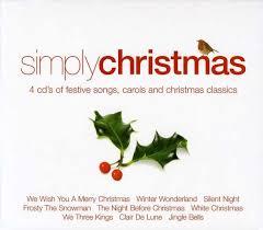christmas cds simply christmas 4 cd s of festive songs carols and christmas