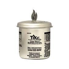 shop tiki clean burn firepiece roundwick burner system fiberglass