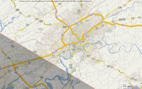 Tennessee City Map by Total Solar Eclipse 2017 Maps Of The Path