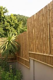 bamboo fencing garden roof fence u0026 futons make a trendy