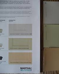 martha stewart paint that matches her cupboards