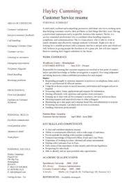Profile Examples For Resume Customer Service Skills Examples For Resume Resume Example And