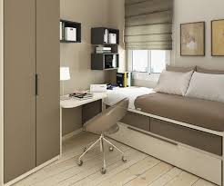 Modern Small Bedroom Decoration With Design Image  Fujizaki - Small bedroom modern design