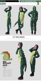 dinosaur halloween costume for adults animal costume dinosaur onesie kigurumi pajamas for