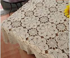 100 cotton handcraft crochet tablecloths shabby chic 5 sizes