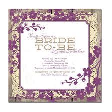 Couples Wedding Shower Invitations Bridal Shower Invitations Purple Kawaiitheo Com