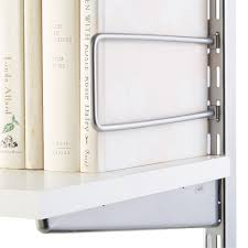 Container Store Bookshelves Melamine Shelves U0026 Shelf Brackets The Container Store