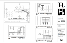 kitchen enlarged and elevation plan portfolio autocad kitchen enlarged and elevation plan elevation planautocadcrossword