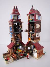 Lego Harry Potter Bathroom Weasley Burrow Harry Potter Lego And Legos