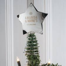 rustic star christmas tree topper christmas lights decoration