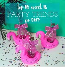 sweet 16 favor ideas sweet 16 party trends for 2017 sweet 16 party store