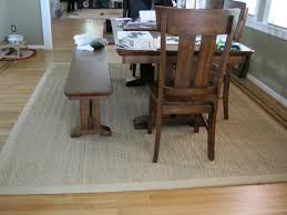 sisal rug under the dining table lilszeto flickr