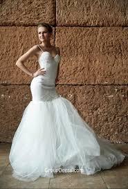 sle sale wedding dresses trumpet white spaghetti fall sleeveless wedding dress