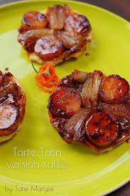 t駘駑atin recettes de cuisine recette de la tarte tatin banane échalote selon tatie maryse