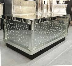 mirrored glass coffee table stunning floating crystal mirrored glass heavy coffee table may