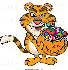 royalty free trick or treat stock big cat designs