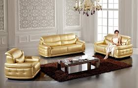 Luxury Leather Sofa Sets Design Of Gold Leather Sofa French Luxury Leather Sofa Combination