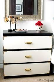 Malm Ikea Nightstand Ikea Malm Dresser Goes Glam See This Diy Project On Amanda Carol