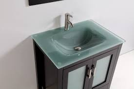 Modern Bathroom Vanity by Bathroom Glass Top Bathroom Vanity Desigining Home Interior