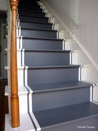 How To Paint Stair Banisters Painted Therapy Painting Your Stairs
