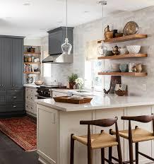 etageres cuisine photos 40 cuisines à étagères ouvertes maison et demeure