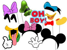 mickey mouse photo booth props mickey mouse friends birthday magical printable