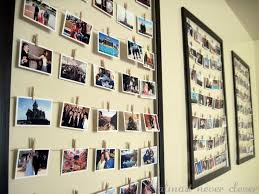 ideas for displaying photos on wall masking tape frames teachin pinterest masking tape