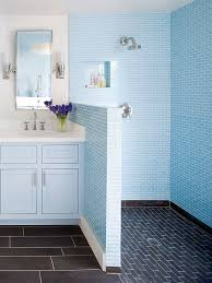 Bathroom Showers Ideas Colors Low Cost Bathroom Updates Blue Tiles Showers And Hardware