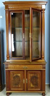 Wohnzimmerschrank Kirsche Gebraucht Nr 917 919 Ital Vitrine Schrank Aus Kirschbaum Holz Intarsien