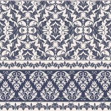 seamless decorative damask floral pattern royal wallpaper floral