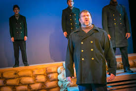 flash all is calm the christmas truce of 1914 at the playhouse