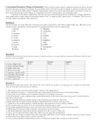 page 1 connotation denotation in class worksheet docx ms