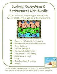 ecology ecosystems habitats webquest 6th 7th 8th 9th grade
