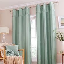 Turquoise Velvet Curtains Catherine Lansfield Opulent Velvet Eyelet Lined Curtains Ebay