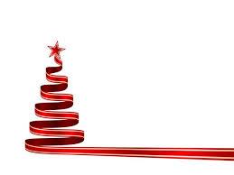 christmas ribbon christmas tree on white vector search christmas cards